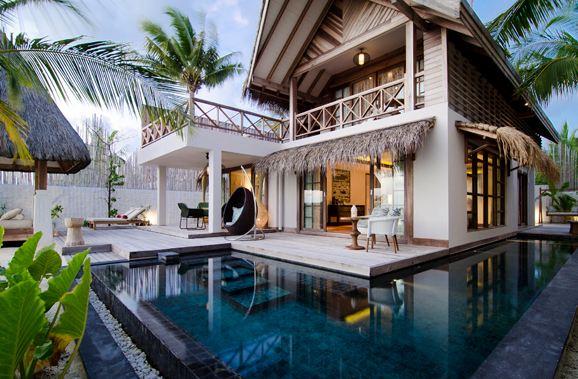 马尔代夫环礁旅游岛设计项目